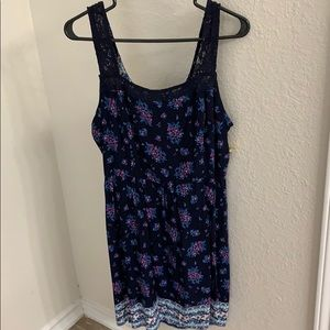 NWT Open Back Dress Finesse 1XL